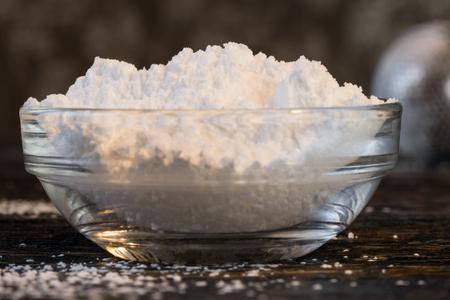 Powdered Sugar in an ingredient bowl
