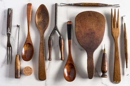 Wood tools and utensils