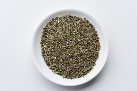 Catnip in a bowl Banco de Imagens