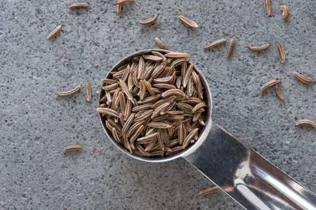 A teaspoon of caraway seeds