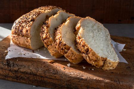 焼きたてのパン 写真素材