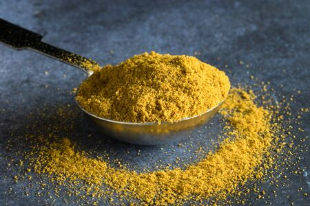A tablespoon of curry powder