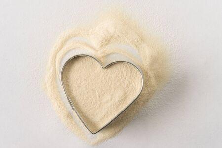 Vegan Protein Powder Stock Photo