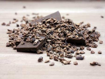 Cacao nibs raw superfood photo