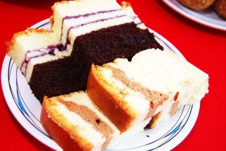 chocolate cponge cake Stock Photo - 4679067