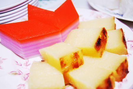Asian delicacy, Nyonya kueh photo