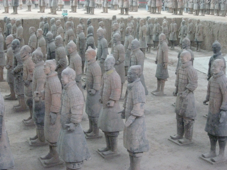 emperor of china: Terracotta Army of Qin Shi Huang, First Emperor of China. Editorial