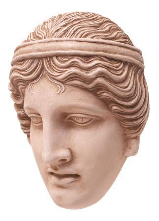 Greek traditional mask three-quarters