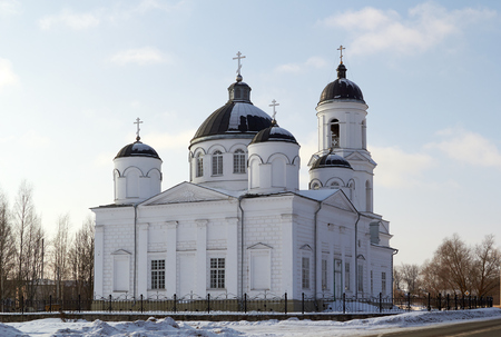 prophet: Orthodox Cathedral of Elijah the Prophet,  Soltsy. Russia