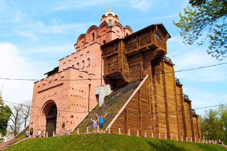 Golden gate in Kiev, Ukraine