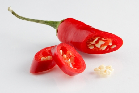 red chilli pepper plant: Chili