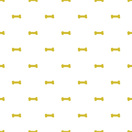 Vector seamless pattern with bones for dogs