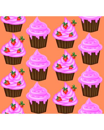 Cupcakes pattern.