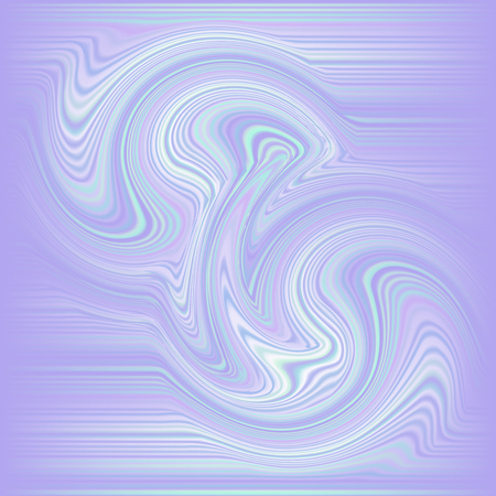 Fondo holográfico. Cubierta brillante Holo. Telón de fondo abstracto colores pastel suaves. Gradiente cósmico de moda vector creativo. Lámina holográfica de malla. Plantilla de neón creativo. Impresión vibrante.