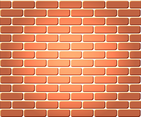 Red brick wall seamless, background - texture pattern for continuous replicate.