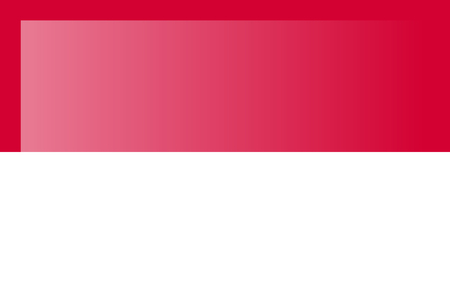 Indonesia flag, official colors and proportion correctly. National Indonesia flag. Flat