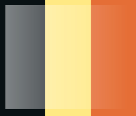 Belgium flag, official colors. National Belgium flag. Flat