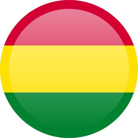 Bolivia waving flag. Bolivia national flag background texture.