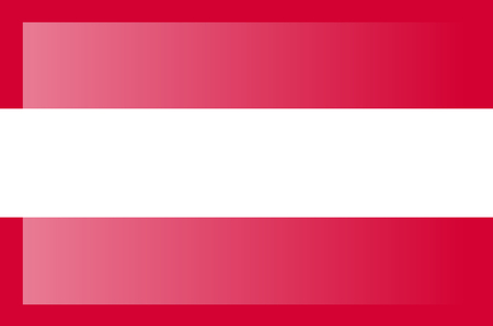 Austria flag, official colors and proportion correctly. National Austria flag.