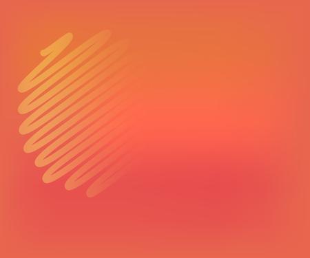 Background, live coral color, trend for business, poster design modern Çizim