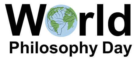 World Philosophy Day, concept, illustration planet banner