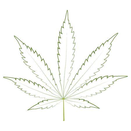 Marijuana cannabis leaf weed icon, medicine, drug