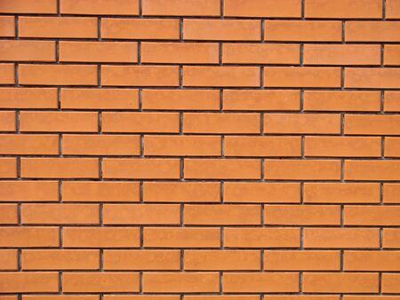 Red old worn brick wall texture background. Vintage effect 写真素材