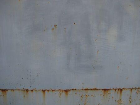 Rusted metal corrugated metal background.Rusty meta.Old metal sheet roof texture
