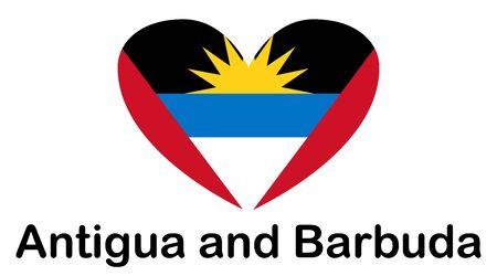 Antigua and Barbuda flag image. official colors and proportion correctly.