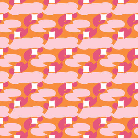 Light Pink pattern with magic elements. Abstract illustration with gothic gradient shapes. Background for esoteric, mystic designs. Illustration
