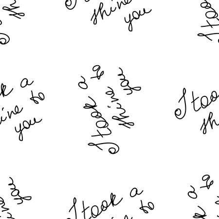 love you hearts romantic pattern illustration isolated on white. black and white seamless pattern for wallpaper, textiles, packaging, scrapbooking, foil stamping.