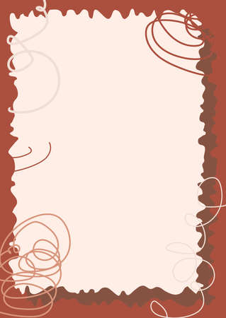 Different elements for decoration and design frames, cards, menus, backgrounds and monograms. Trendy beige