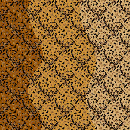 Fashionable Leopard Seamless Pattern. Stylized Spotted Leopard Skin Background for Fashion, Print, Wallpaper, Fabric.