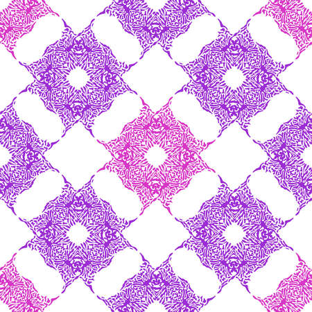 Abstract color splash, seamless pattern. Spray paint on a white background.