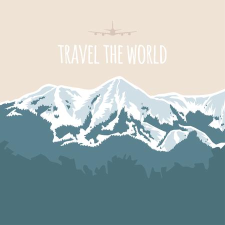 세계 여행, 산
