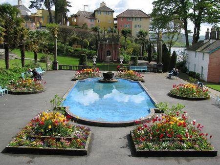 Garden at Portmeirion
