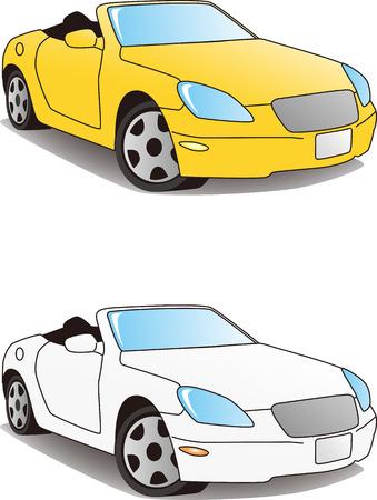 スポーツ車ベクトル イラスト