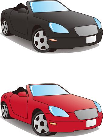 Sports cars   vector illustration 일러스트