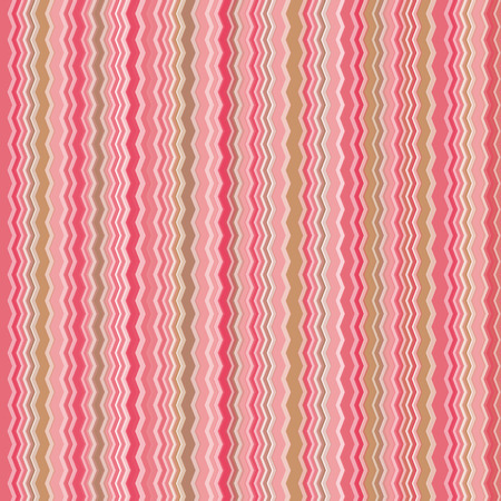 ridges: Zigzag stripe pattern in multiple pink color