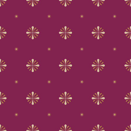 wine red: Abstract flower pattern on wine red background