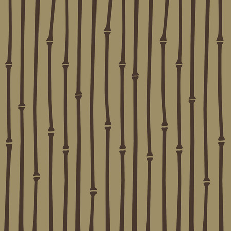 light brown: brown Japanese style bamboo stripe pattern in light brown background