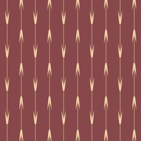 brown stripe: Brown Japanese style wheat leaf stripe pattern