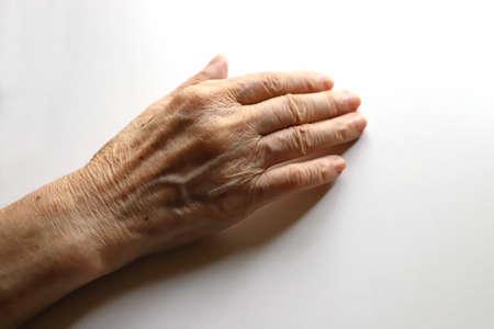 Senior woman, grandma's right hand
