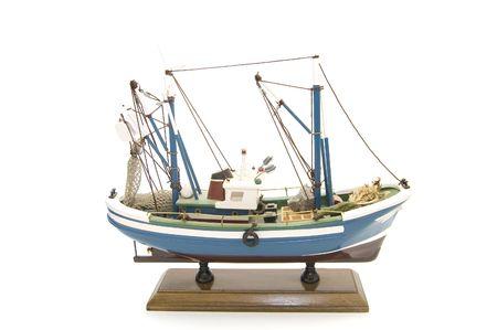 model fishing boat