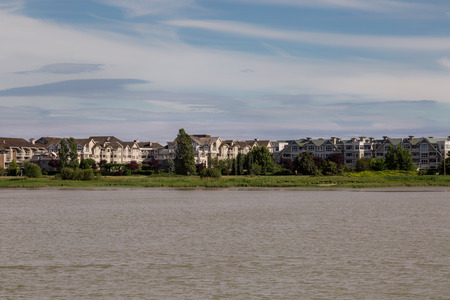 fraser river: Richmond, Canada On The Fraser River Stock Photo