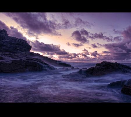 mare agitato: Viola Seascape Dreamy, Holiday Dream, Seaside