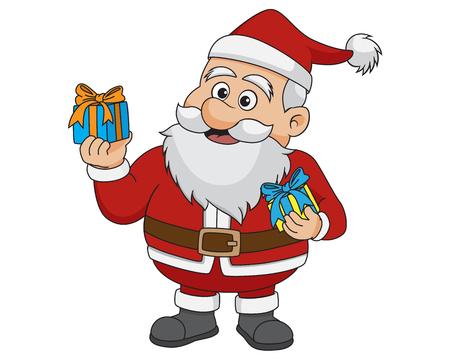 크리스마스 산타 Claus.vector 및 그림입니다.