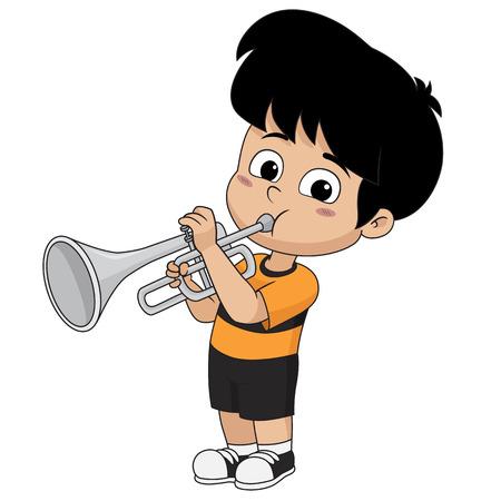 아이 재생 trumpet.vector 및 그림입니다.