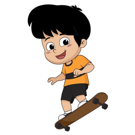 아이 skateboard.vector 및 그림을 재생합니다.