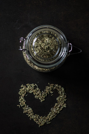 alimentation: Fennel seeds and love